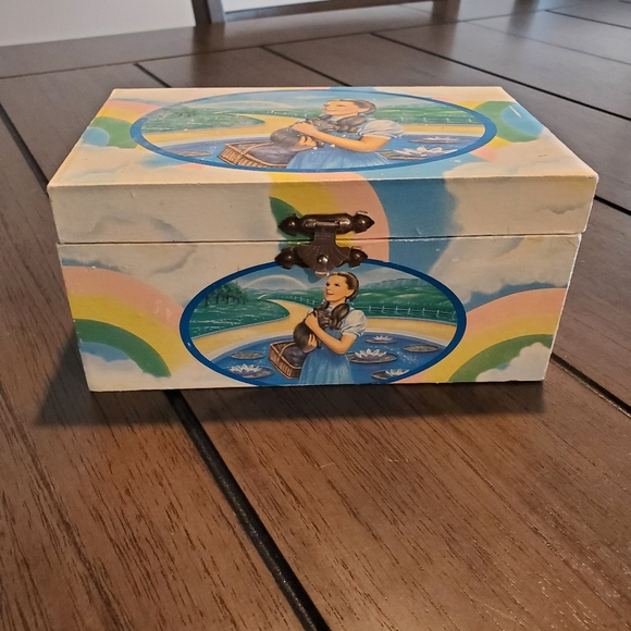 Vintage 1988 Wizard of Oz Musical Jewelry Box